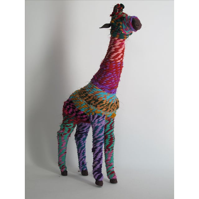 Image of Boho Indian Chindi Giraffe
