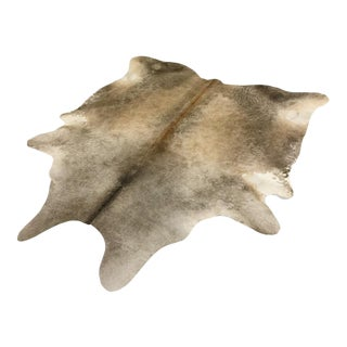 Salt & Pepper Cowhide Rug - 6′6″ × 7′2″