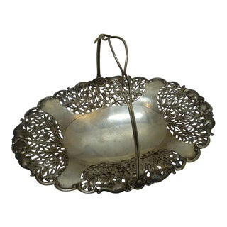 Antique Chinese Silver Serving Tray