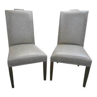 Vanguard Everheart Upholstered Side Chairs - A Pair