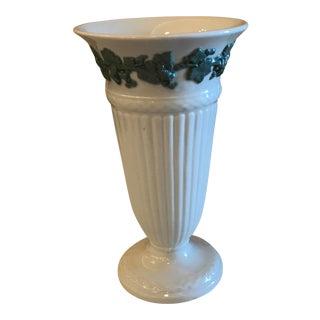 Wedgwood Mid-Century Celadon Queen's Ware Vase