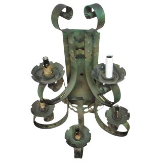 5-Arm Iron Wall Sconce