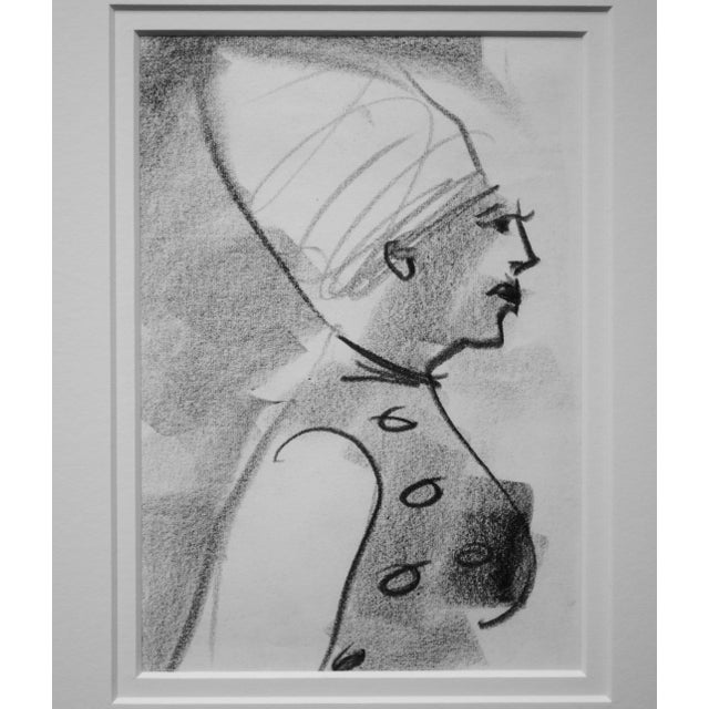 Image of Mid-Century Figurative Drawing