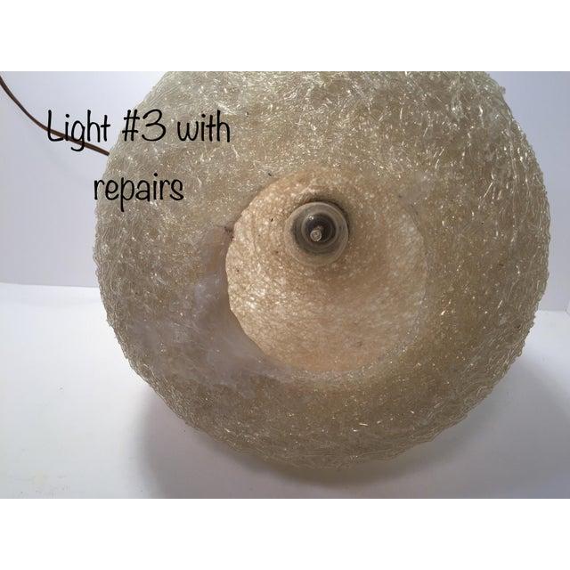 Vintage Lucite Pendant Light - Image 8 of 9