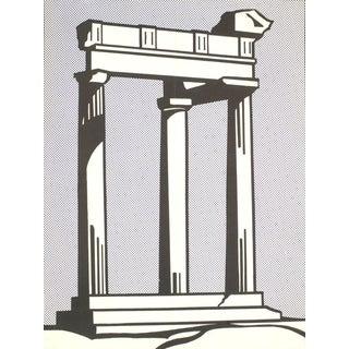 1964 Roy Lichtenstein Temple with Folds Poster