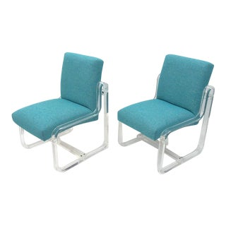 Acrylic Dining Chairs by Vivid - Set of 4