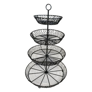 French Style Four Tiered Etagere