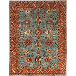 "Ziegler Hand Knotted Area Rug - 9' 1"" X 11' 9"""