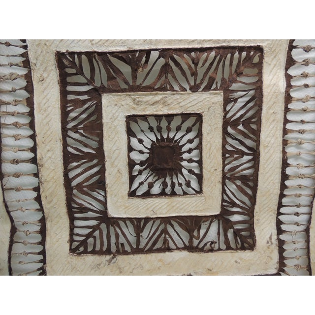 Vintage Mexican Amate Bark Paper Art - Image 3 of 5