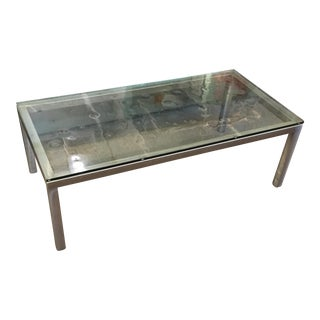 Storehouse Metal & Glass Coffee Table