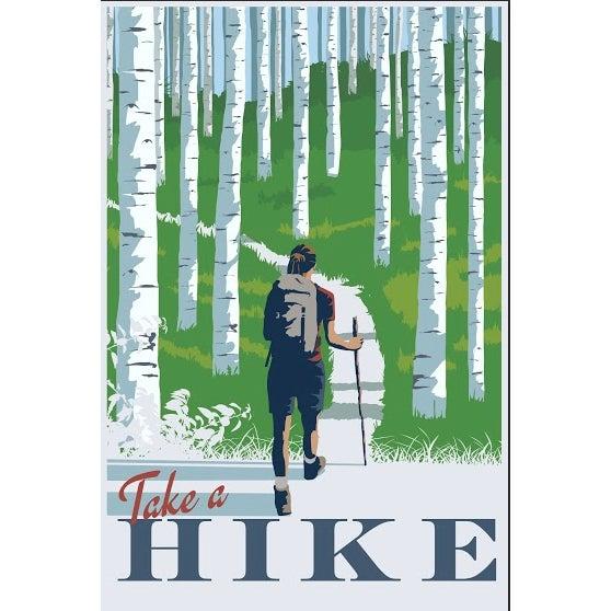 Steve Thomas Retro-Style Travel Poster - Image 1 of 2