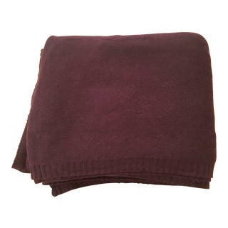 Extra Large Cashmere Blanket in Mocha