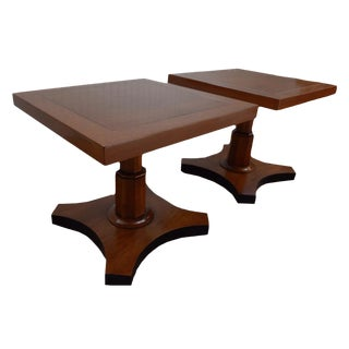 Palladian Collection Tables Designed by Baker - A Pair