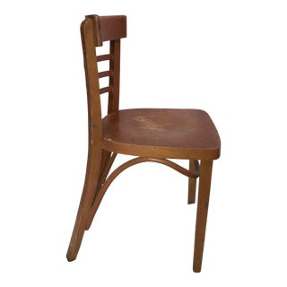 Mid-Century Romanian Bentwood Parlor Chair
