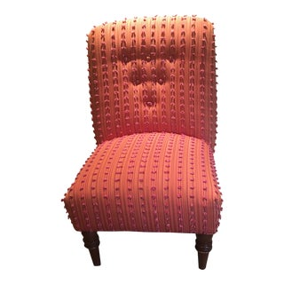 Boho Chic Orange Chair