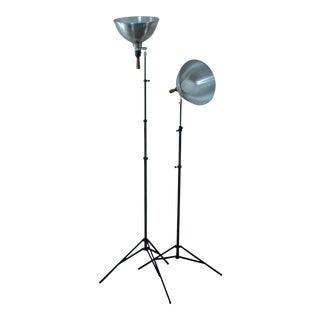 Vintage PhotographyTripod Lamps - A Pair