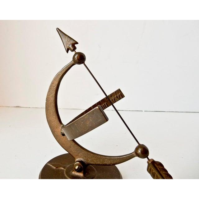 Image of Vintage Bronze Sun Clock