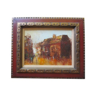 Abstract Expressionist Street Scene 1975