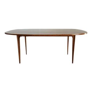 Broyhill Brasilia Walnut Drop Leaf Dining Table