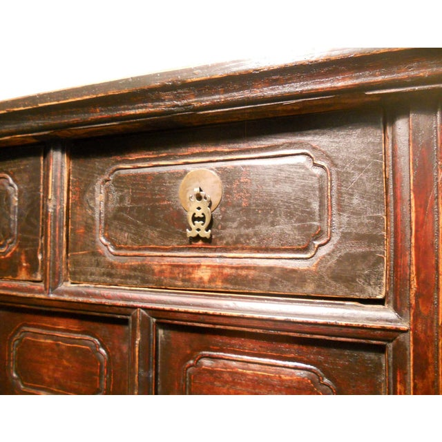 19th-Century Chinese Ming Cabinet - Image 5 of 9