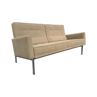 Florence Knoll Parallel Bar Sofa Settee for Knoll