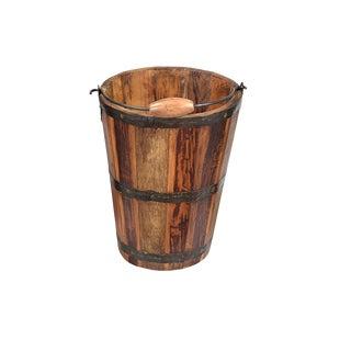 Teak Bucket - Medium