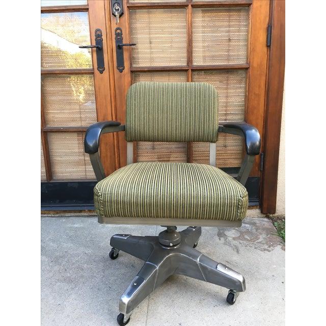Industrial Vintage Office Desk Chair - Image 6 of 6