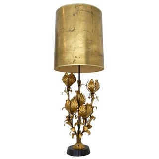 Gilt Metal Table Lamp