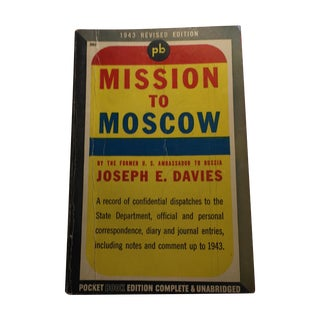 1943 Mission to Moscow by Joseph E. Davies