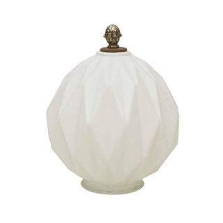 White Antique  Light Fixture Cover
