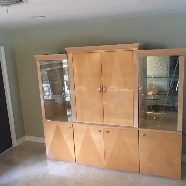 Wall Unit From Italy Lighted - Image 3 of 11