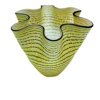 Kosta Boda Ulrica Hyden-Vallien Ruffle Vase