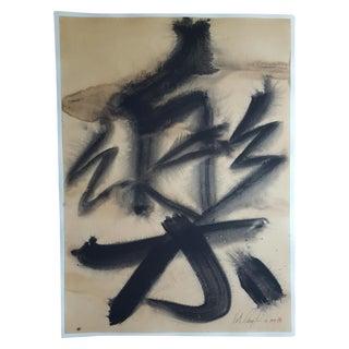 "Keith Carrington ""Joy"" Watercolor Drawing"