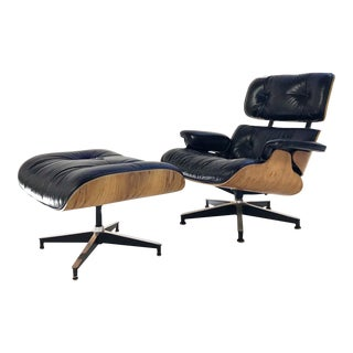 Charles and Ray Eames for Herman Miller 670 Lounge Chair and 671 Ottoman