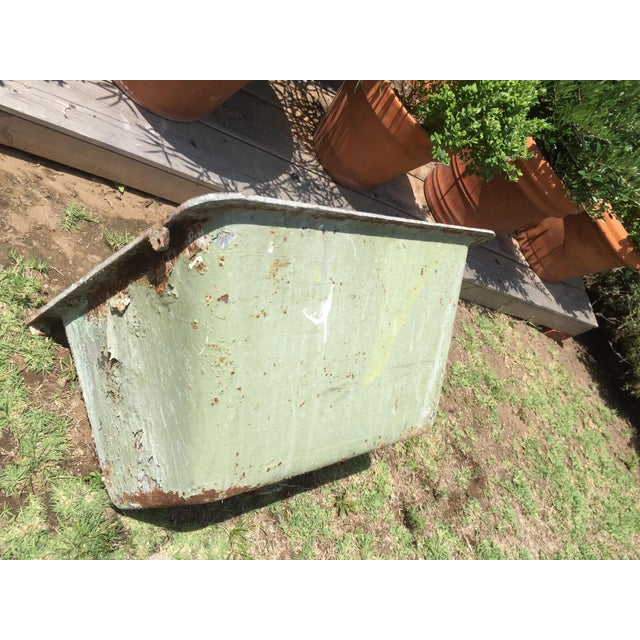 Cast Iron Antique Salvage Utility Sink - Image 4 of 12