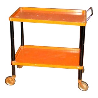 Bauhaus Era Bar/Tea Cart