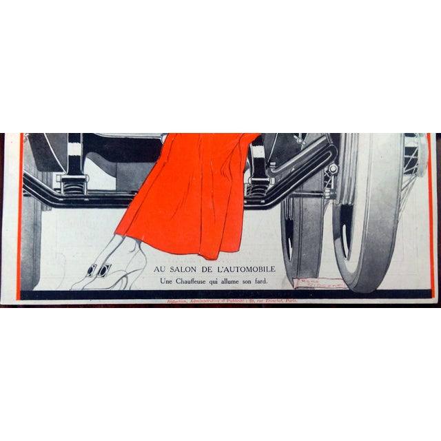 1922 La Vie Parisienne Cover Prints - a Pair - Image 8 of 9