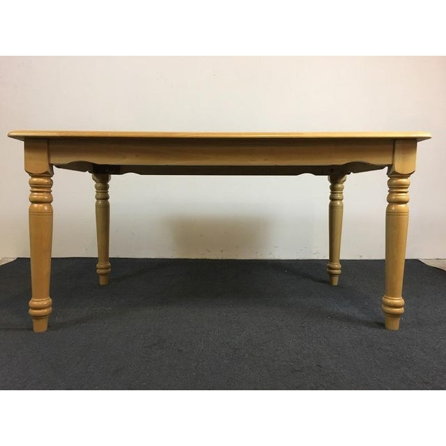Country Carved Oak Dining Set - Image 6 of 11