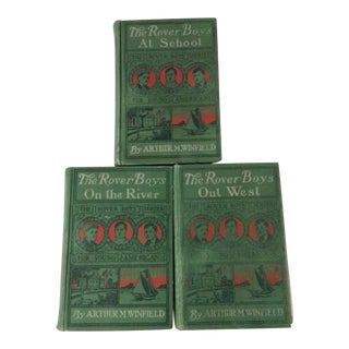 Early 1900s Books: The Rover Boys' Series for Young Americans - Set of 3