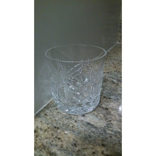 Vintage Etched Rocks Glasses - Set of 4 - Image 11 of 11