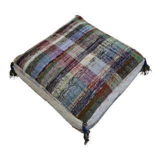 Turkish Hand Woven Kilim Floor Pillow