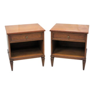 Henredon Directoire Style Nightstands - A Pair