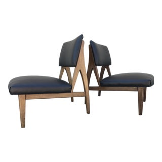 Modern Lounge Chairs - A Pair