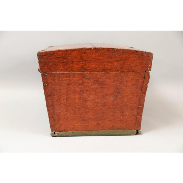 Image of Antique Upsala Swedish Marriage Trunk / Box