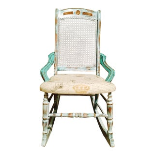 Lincoln Shabby Chic White Rocker