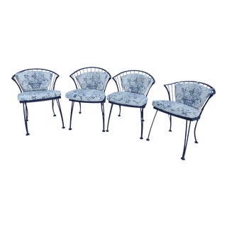 Signed Woodard Dining Chairs - Set of 4