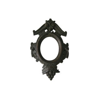 Victorian Black Forest Hand Carved Frame
