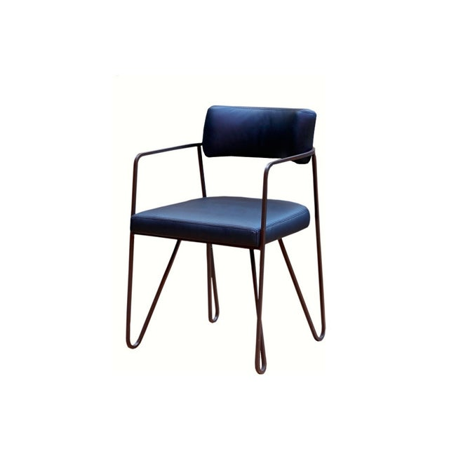 Wire Dining Chairs - Pair - Image 3 of 3