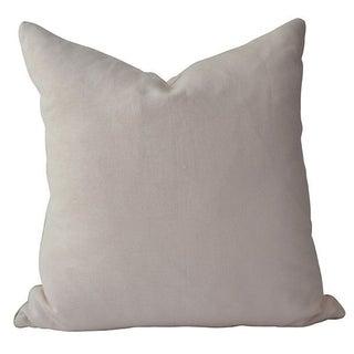 Avosetta Home Petal Pink Linen Pillow