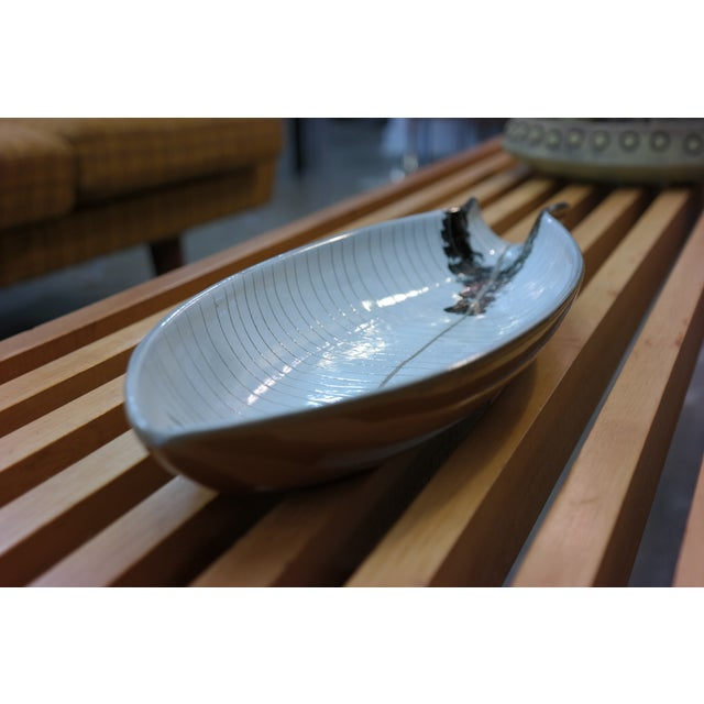 Large Tackett Ceramic Fish Platter - Image 5 of 8